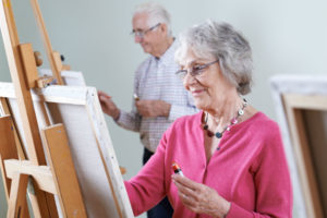 How Participation in The Arts Promotes Healthy Aging in Seniors